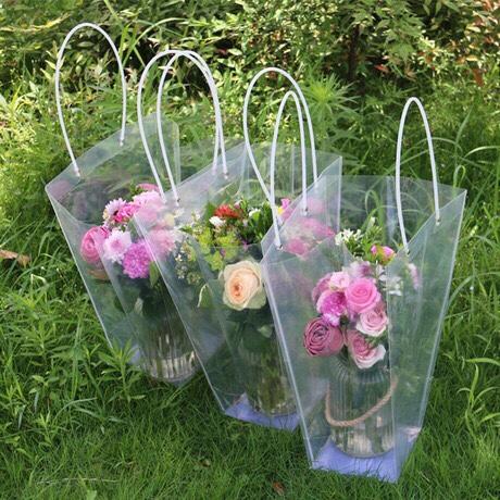 Túi nhựa đựng hoa tươi