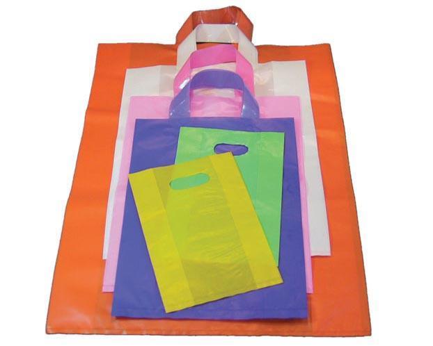 Túi nilon PE màu