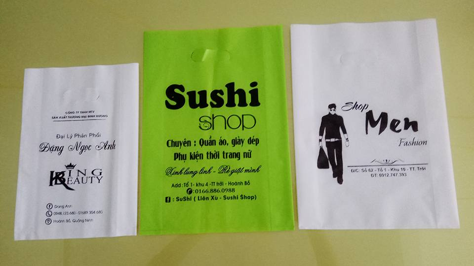 Túi nhựa quảng bá sản phẩm